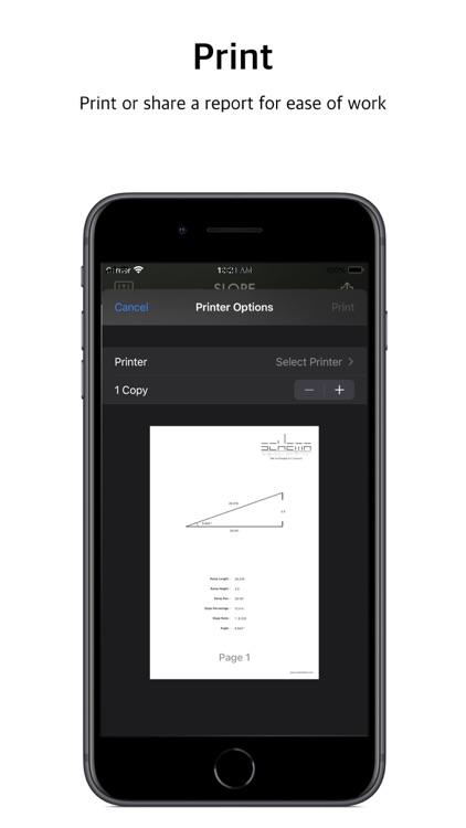 SLOPE: Ramp Slope Calculator screenshot-3