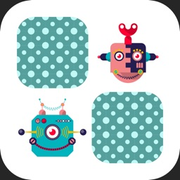 Robots Memory game for kids