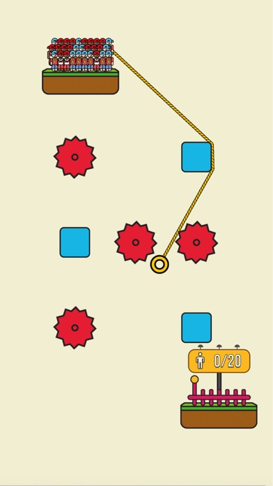 Rope Rescue! - Unique Puzzle app image