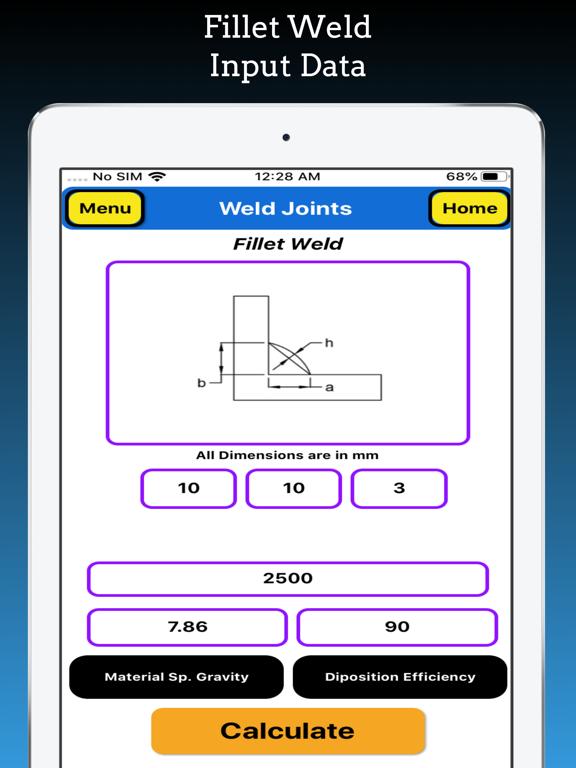 Welding Weight Calculator Pro screenshot 20