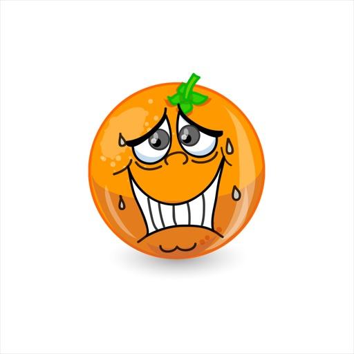 OrangeFruitFacesSt icon