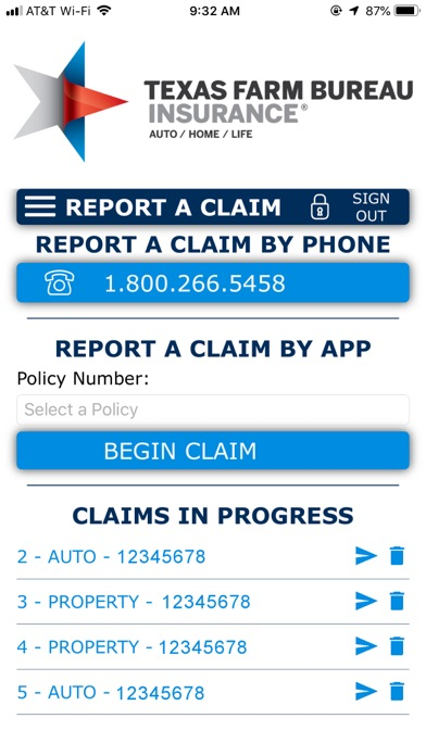 Texas Farm Bureau InsuranceScreenshot of 2