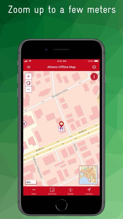 Athens Offline Map screenshot-5