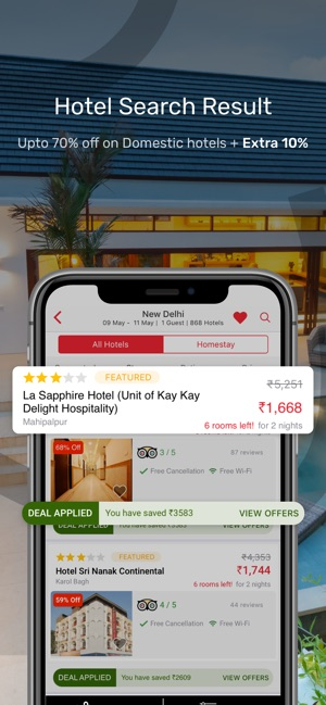 yatra flights hotels cabs on the app store rh apps apple com