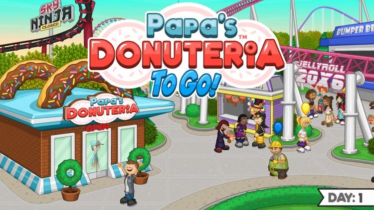 Papa's Donuteria To Go!