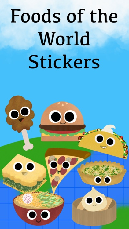 Foods of the World Stickers