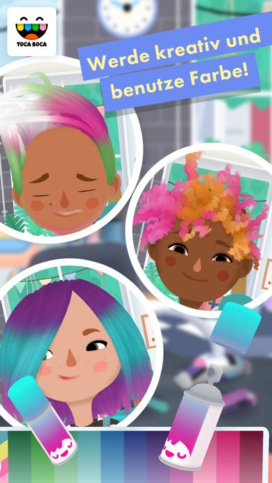 Screenshot for Toca Hair Salon 3 in Switzerland App Store