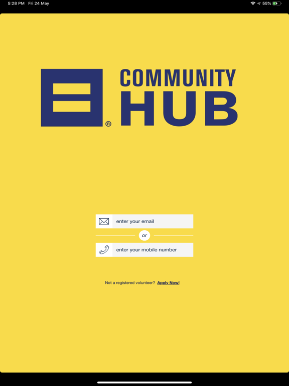 Ipad Screen Shot HRC Community 0