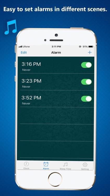 Math Puzzle Alarm Clock screenshot-3