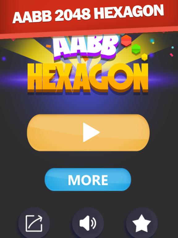 AABB 2048 Hexagon screenshot 6