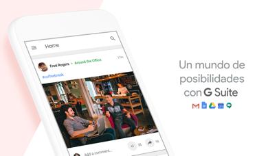 Screenshot for Google+ para G Suite in Spain App Store