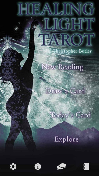 Healing Light Tarotのおすすめ画像1