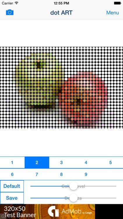 dot ART - Mosaic Effects App screenshot-6