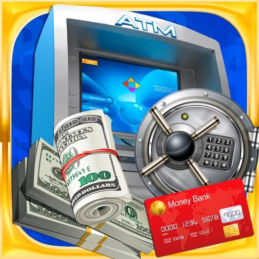 ATM Bank Teller & Cash Machine