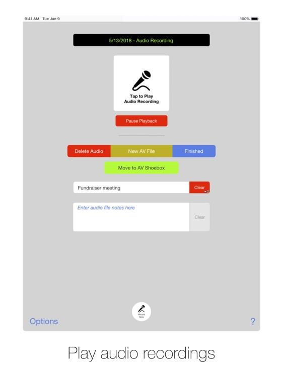 AV Shoebox for iPad screenshot-3
