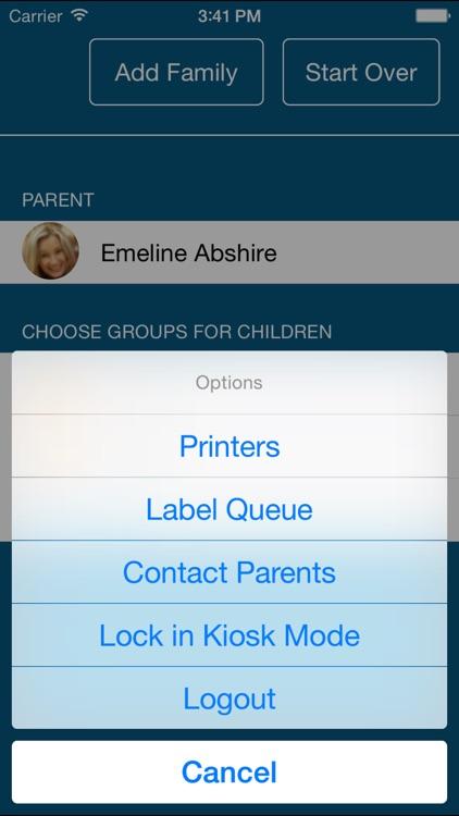 ShelbyNEXT Check-in App