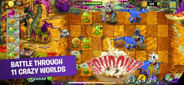 Plants vs Zombies 2 IPA (MOD Kim cương, chìa khóa)