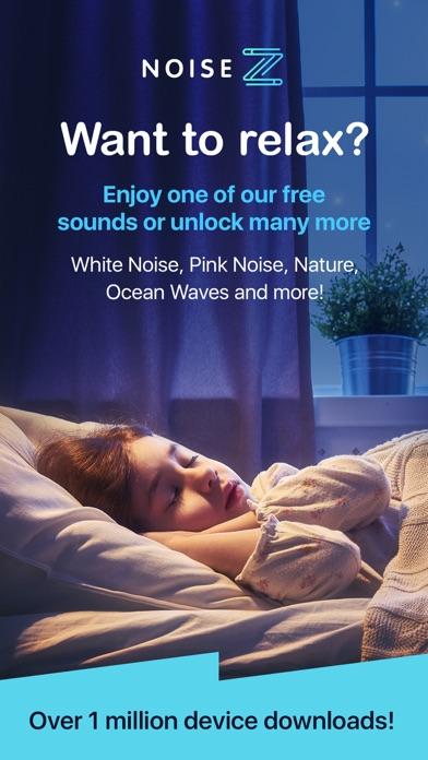 NoiseZ: Soothing Sleep Sounds screenshot one