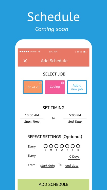 Timesheet X - Track Work Hours screenshot-8