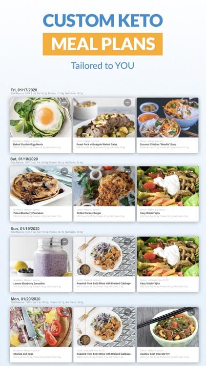 Total Keto Diet: Macro Tracker screenshot-3