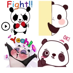 Adorable Panda Stickers