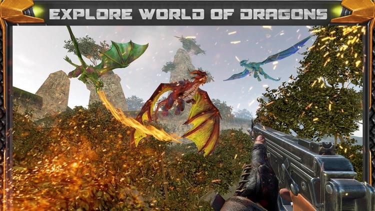 Dragon Hunting Sniper Shooting screenshot-3