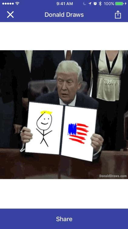 Donald Draws Executive Doodle screenshot-3