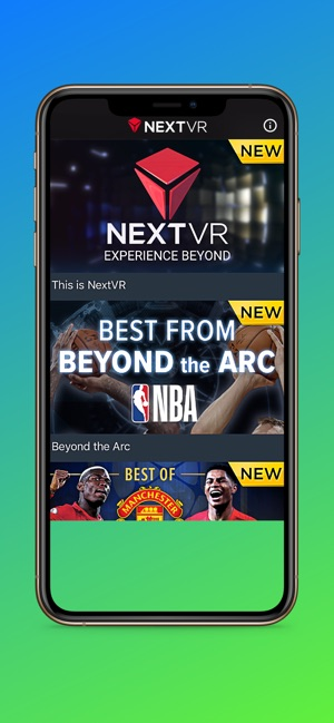 NextVR Now on the App Store