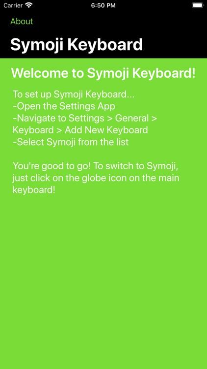 Symoji Keyboard (+Greek) screenshot-4
