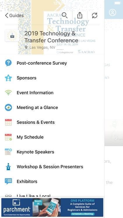 AACRAO Engage 2020 screenshot-3