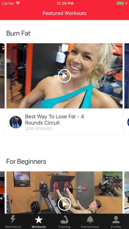 MyTraining Workout Tracker Log screenshot-3