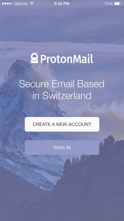 ProtonMail - Encrypted Email screenshot-0