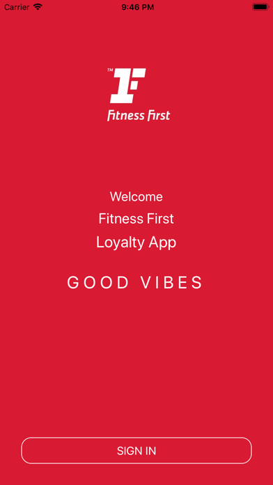 Good Vibes by Fitness First ME screenshot 1