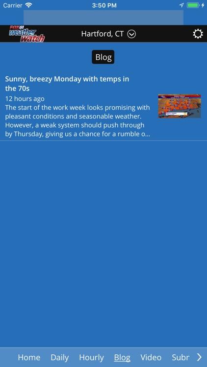 Fox61 Weather Watch screenshot-4