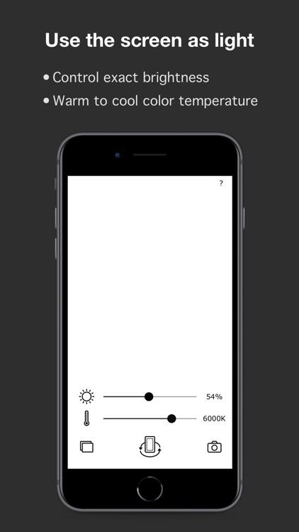 Lit Cam : Light and Camera screenshot-4