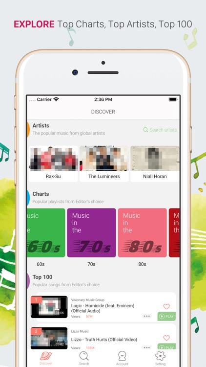 iMusi - Music Streamer & EQ screenshot-4
