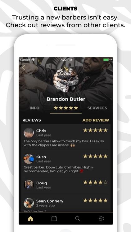 theCut: #1 Barber Booking App screenshot-4