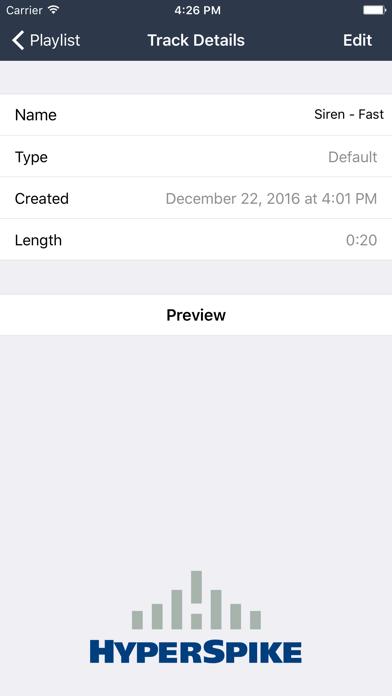 HyperSpike Mobile Application screenshot three