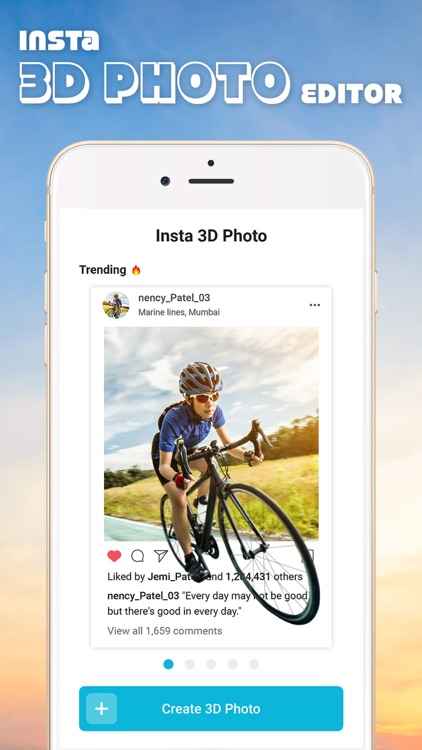 3D Photo Post For Instagram screenshot-3