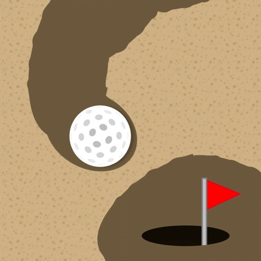 Golf Nest - Dig Your Way Out! icon