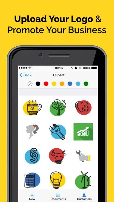 Invoice Maker & Billing App Screenshot