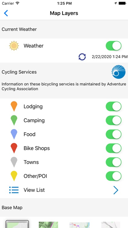 Bicycle Route Navigator screenshot-2