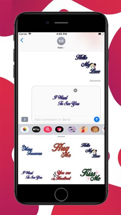 Love Lines Stickers screenshot 3