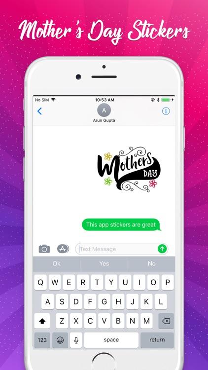 Mother's Day Sticker Pack! screenshot-3