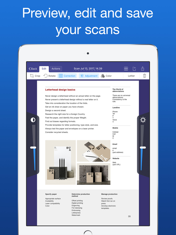 Scanner Pro 7 - Document and receipt PDF scanner with OCR screenshot
