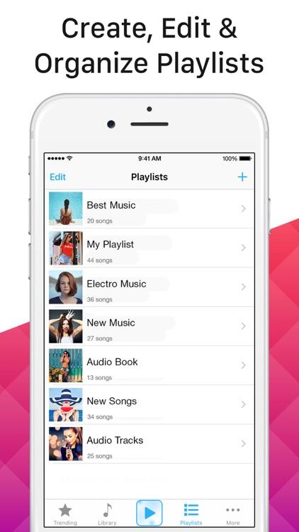 Multi Music Player - listen screenshot-3