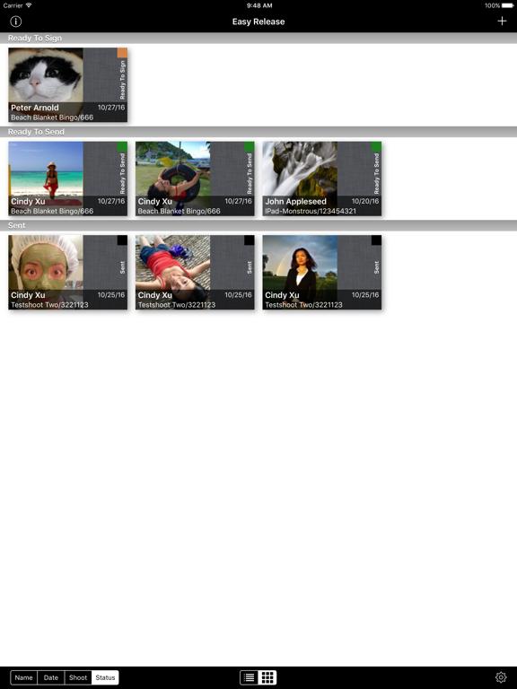 Easy Release - Model Release App screenshot