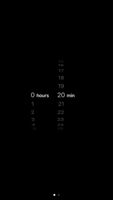 Simple Meditation Timer screenshot one
