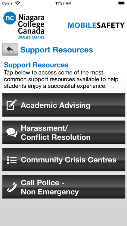 Mobile Safety Niagara College screenshot-5