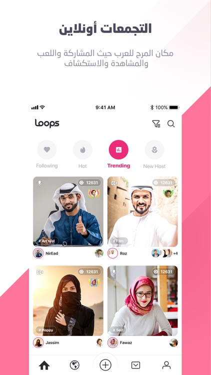 Loops - Connecting Arabs